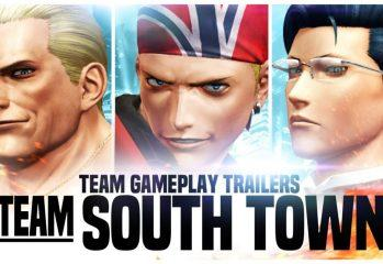 The King Of Fighters XIV – Team South Town Trailer