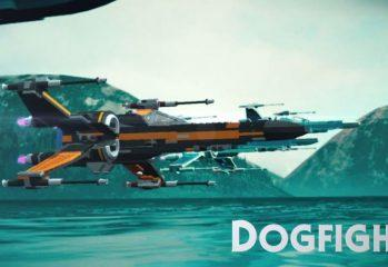 What's Dogfighting Like In LEGO Star Wars: The Force Awakens?