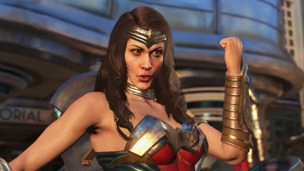 Wonder Woman Revealed On Injustice 2