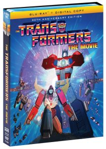 Transformers: The Movie Blu-ray Cover Art