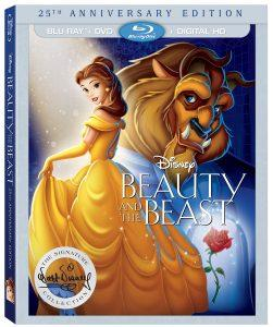 Beauty and the Beast Blu-ray Box Art