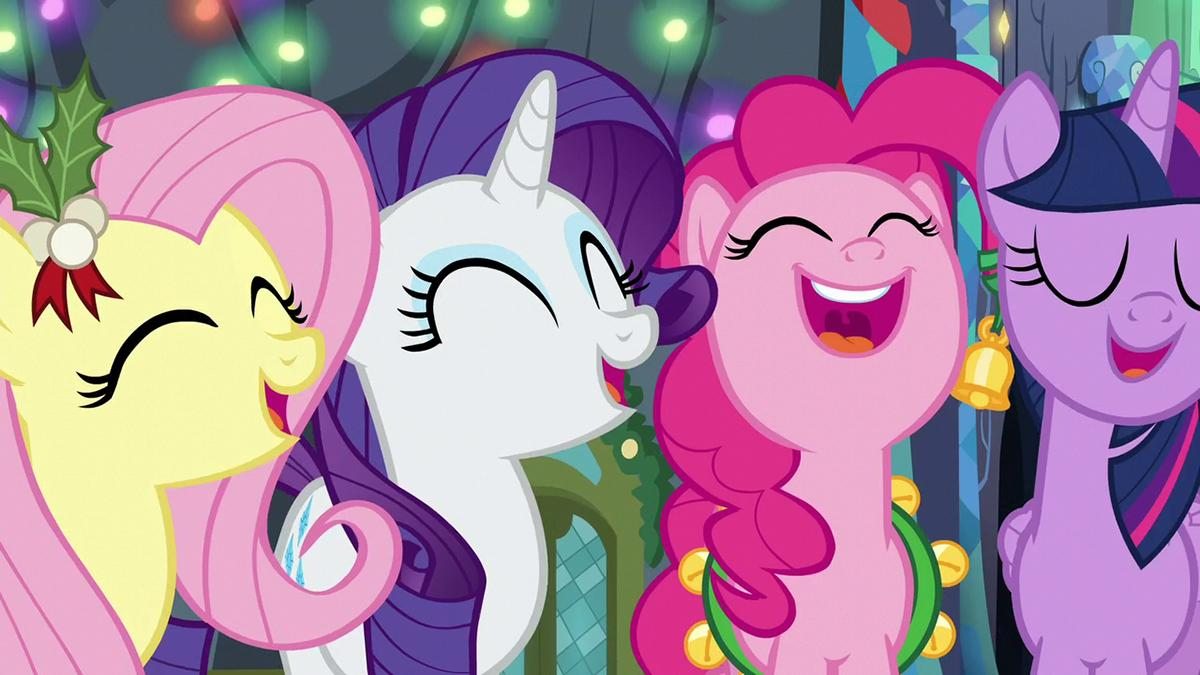 My Little Pony Christmas.My Little Pony Friendship Is Magic Holiday Album A Pony