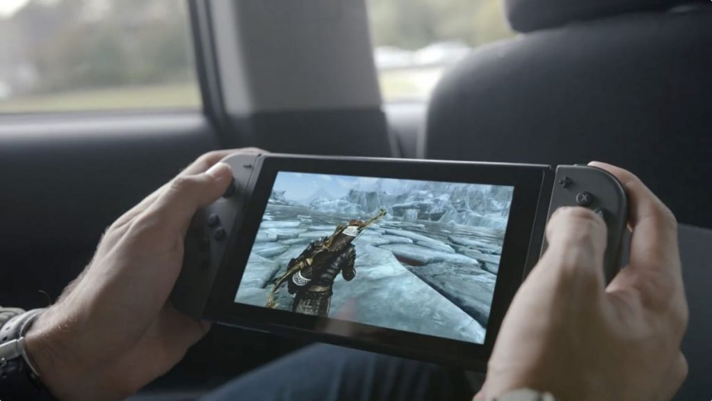 The Nintendo Switch's controller has a 6.2-inch, 720p display