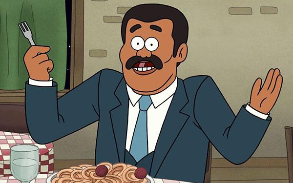 Regular Show Neil deGrasse Tyson