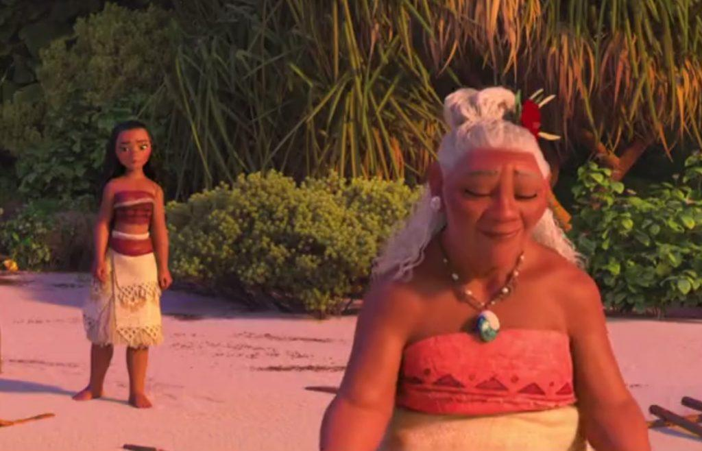 Meet The Village Crazy Lady In New Moana Clip Toonzone News