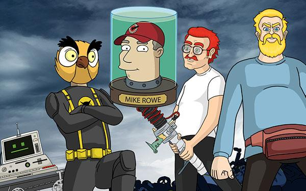 Mike Rowe Paranormal Action Squad