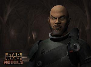 Saw Gerrera in Star Wars Rebels