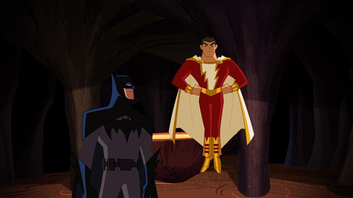 Justice League Action Shazam Slam