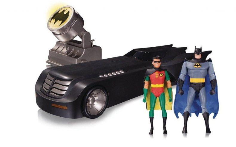 DC Collectibles Batman: The Animated Series: Deluxe Batmobile - Holiday Gift Guide 2016 - Comics & Collectibles