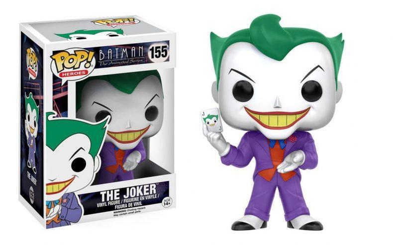 Funko Batman The Animated Series Joker Pop Heroes Figure - Holiday Gift Guide 2016 - Comics & Collectibles