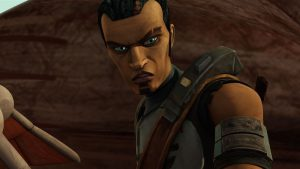 Saw Gerrera in Star Wars: The Clone Wars