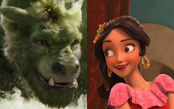 Pete's Dragon 2016 and Elena of Avalor Ready to Rule