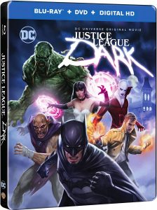 Justice League Dark Steelbook Package