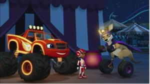 Blaze and the Monster Machines Light Riders