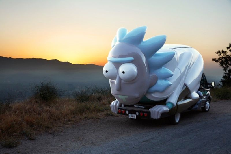 Rick and Morty: Adult Swim Bringing the Rickmobile Your Way