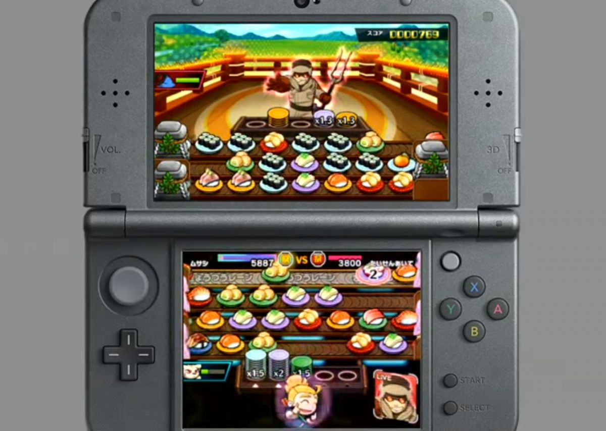 Nintendo announces Sushi Striker: The Way of Sushido for 3DS