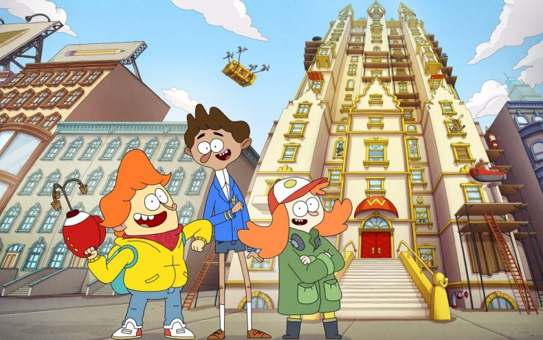 Nickelodeon�s �Welcome to the Wayne� Premieres July 24, 2017; Voice Cast Announced
