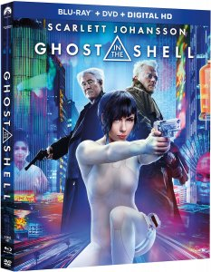 Ghost in the Shell (2017) Live-Action Blu-ray