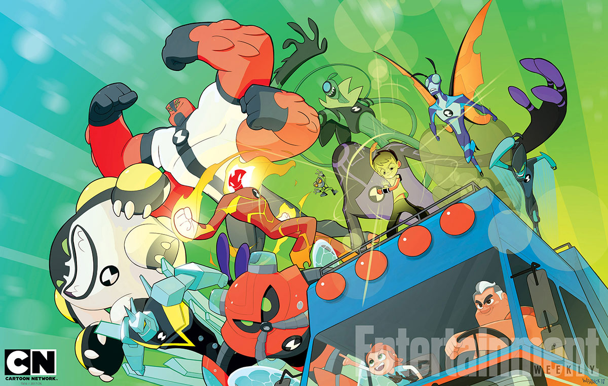 """SDCC 2017: The """"Ben 10"""" Panel"""