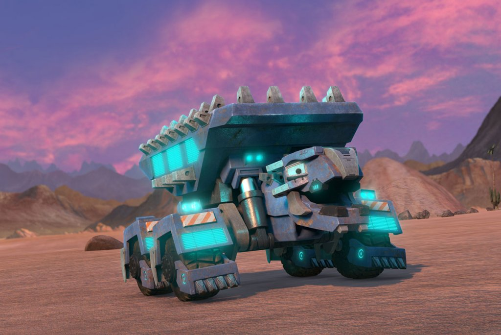 ton ton gets supercharged in dinotrux supercharged clip. Black Bedroom Furniture Sets. Home Design Ideas