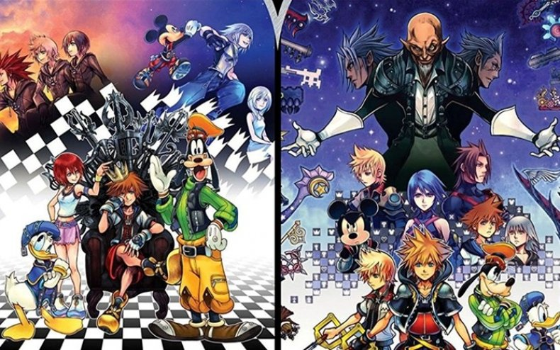Video Games Holiday Gift Guide 2017 - Kingdom Hearts HD 1.5 + 2.5 Remix
