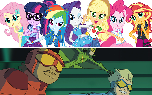 My Little Pony Equestria Girls/Stretch Armstrong and the Flex Fighters