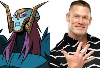Rise of the Teenage Mutant Ninja Turtles John Cena Baron Draxum