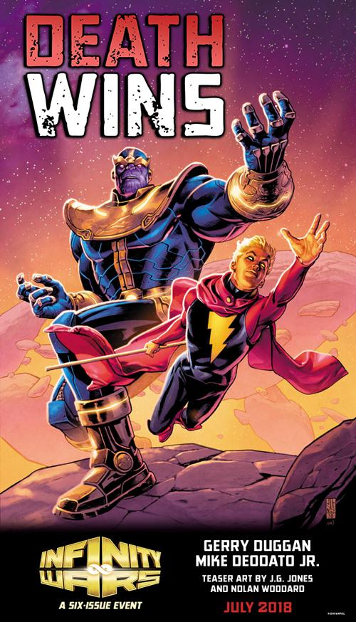 DEATH WINS -WHO WILL DEATH CLAIM IN THE INFINITY WARS?