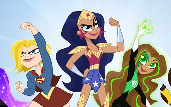 DC Super Hero Girls First Look Artwork Lauren Faust