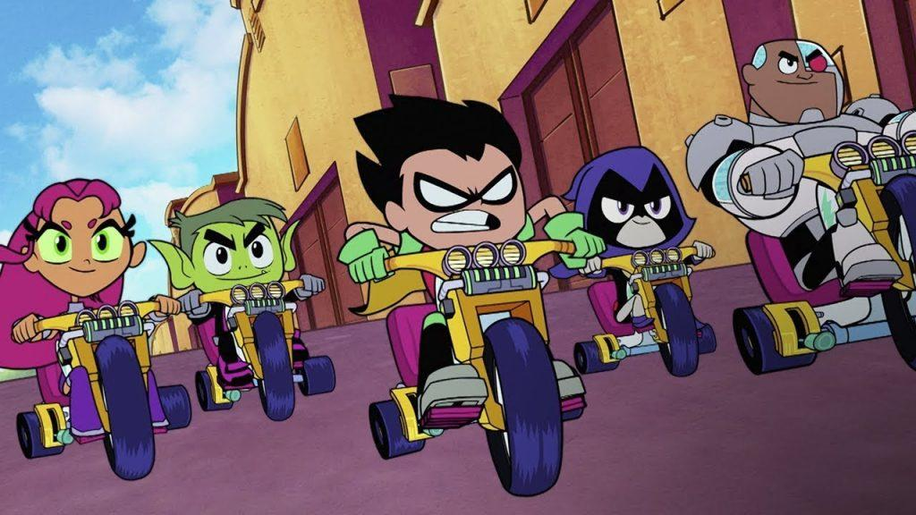 The New Teen Titans GO! to the Movies Trailer and Poster!