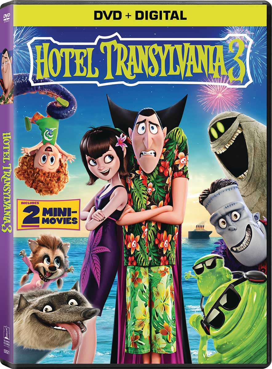 "Hotel Transylvania 3: ""Hotel Transylvania 3"" Coming To Digital HD September 25"