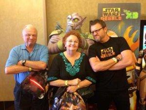 Steve Blum and Parents