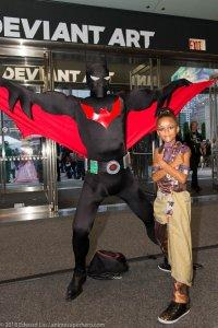 Batman Beyond and Little Shuri Cosplay