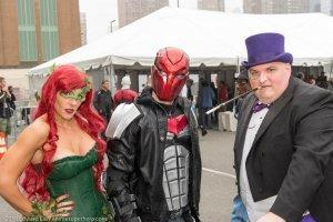 Poison Ivy, Red Hood, Penguin Cosplay