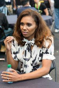 Toks Olagundoye at New York Comic Con 2018