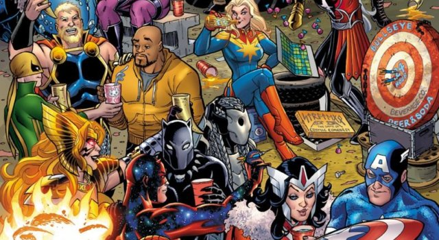 WAR OF THE REALMS #1 Cover Art