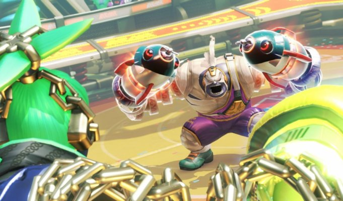 Arms Super Smash Bros Ultimate