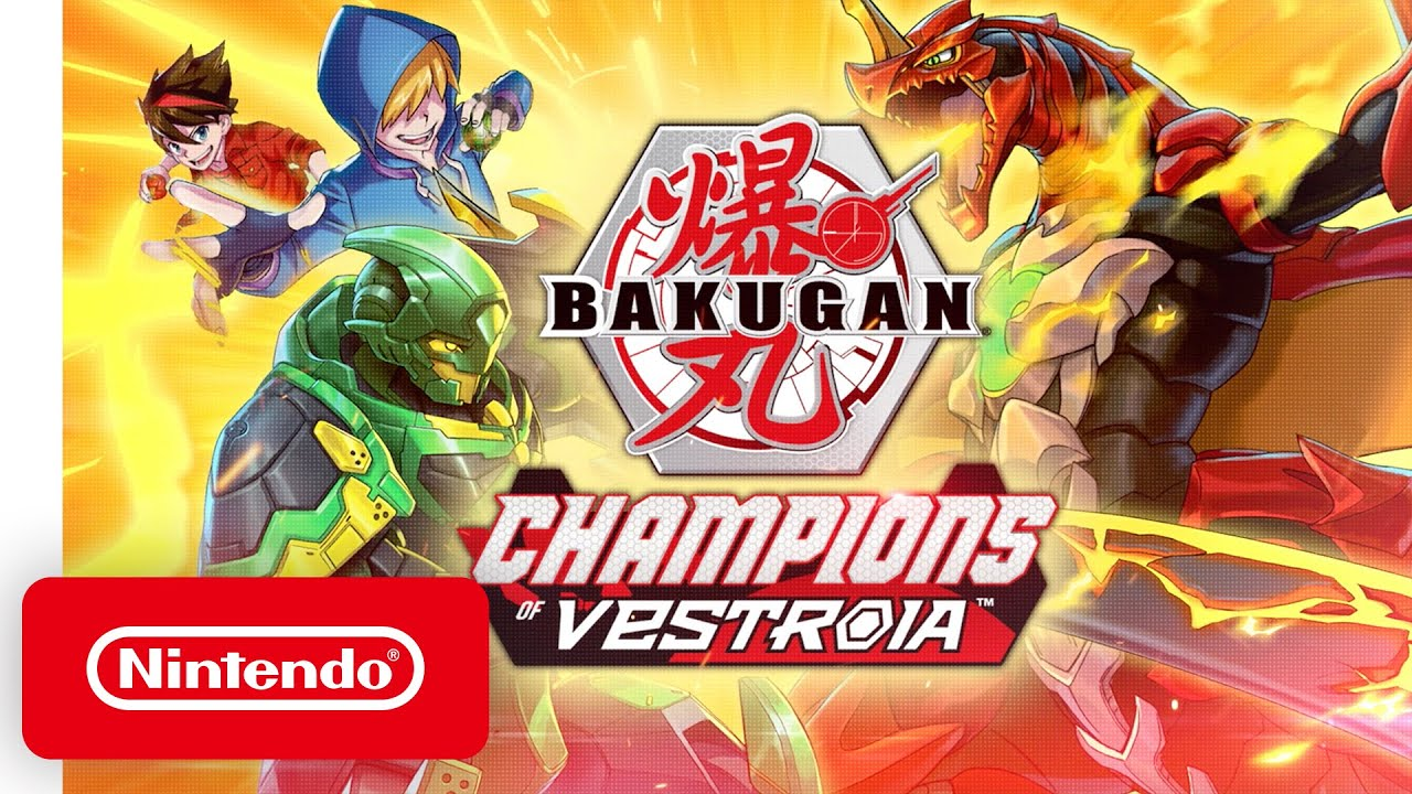 WayForward's Switch Exclusive Is Bakugan: Champions of Vestroia | Bakugan: Champions of Vestroia