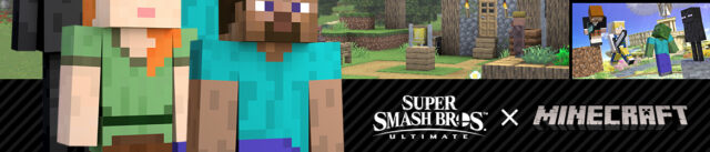Minecraft Steve, Smash Bros