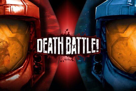 Red vs Blue, Death Battle