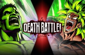 Hulk vs Broly Death Battle